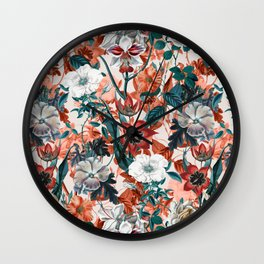 SUMMER GARDEN II Wall Clock
