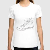 shoe T-shirts featuring Shoe by Tony Bozanic Art