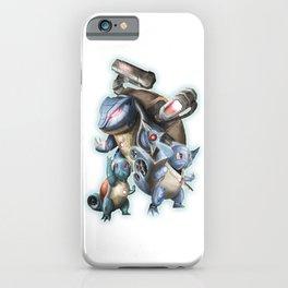 Méca-Squirtle's Team iPhone Case