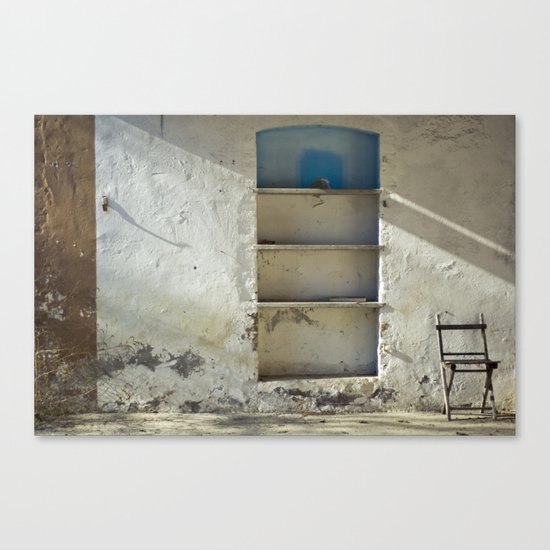 Lonely Chairs #2 Canvas Print