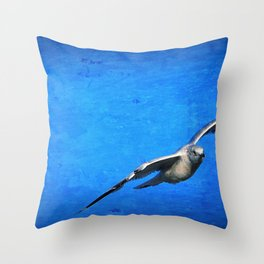 Winter Nomad Throw Pillow