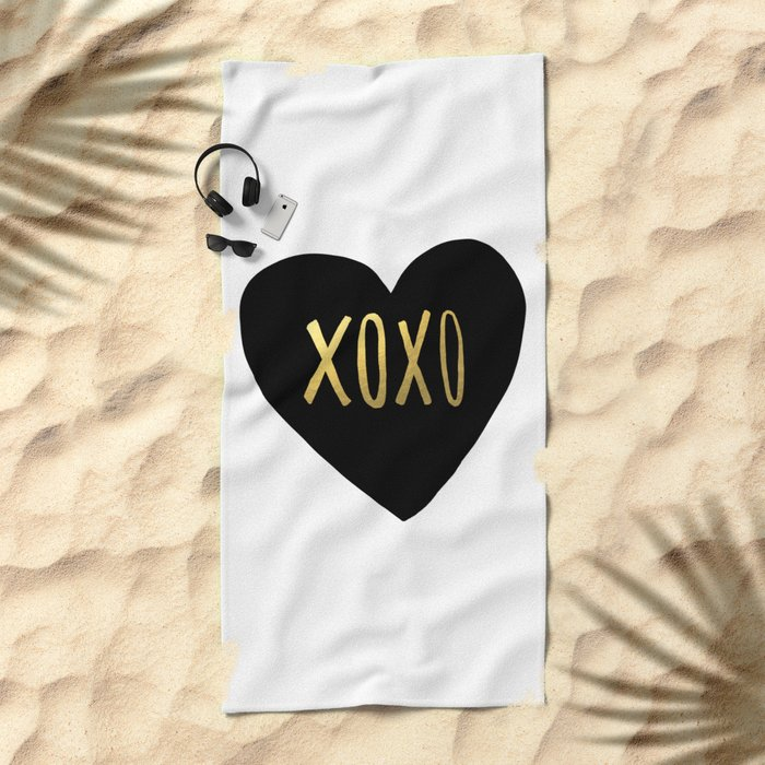 XOXO x Gold Beach Towel