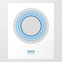 Tampa Bay rings Art Print