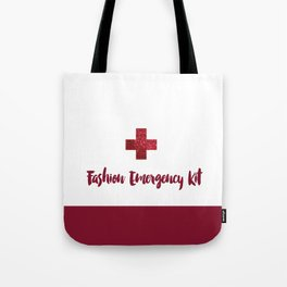 Fashion Emergency Kit Tote Bag