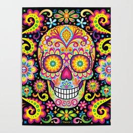 Sugar Skull Art (Spark) Poster