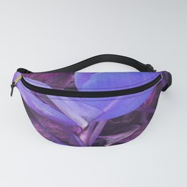 Blue Tropical Fanny Pack