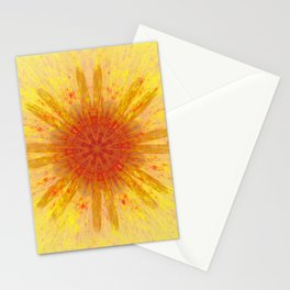 Explosion Fire Stationery Cards