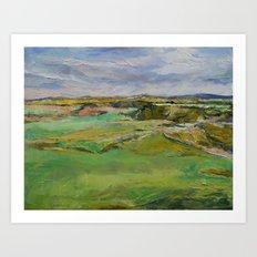 Scottish Lowlands Art Print