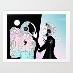 I Found a Place for Us (Summer Pastel) Art Print