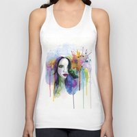 eternal sunshine Tank Tops featuring Eternal sunshine by YOUMEECHO  ILLUSTRATION STUDIO