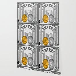 Necropolis Coins Gold and Silver 1 Wallpaper