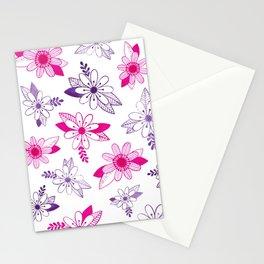 Daisy Ink Illustration Stationery Cards