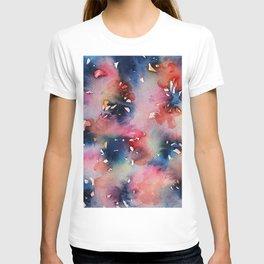 Pink Flowers Perfume T-shirt