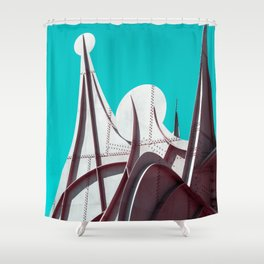 Surreal Montreal 3 Shower Curtain