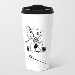 Floppy Voodoo Doll Metal Travel Mug