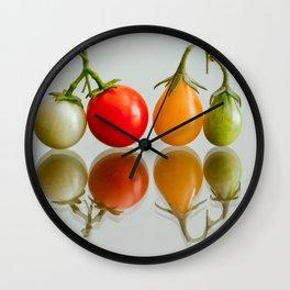 Cherry Tomatoes Wall Clock