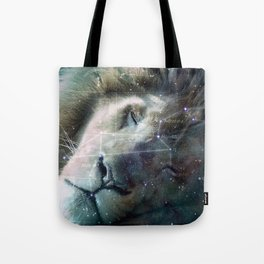 La constellation du Lion Tote Bag