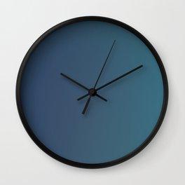 ASPHALT - Plain Color Iphone Case Wall Clock