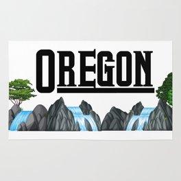Oregon for Men Women and Kids Rug