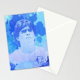 Diego Armando - The Golden Boy Stationery Cards