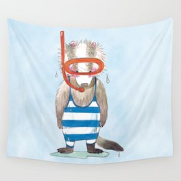 Badger Dietrich Wall Tapestry