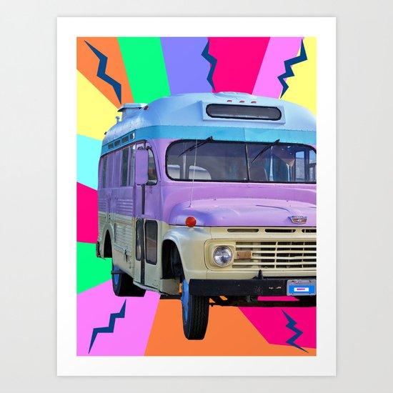 groovy! Art Print