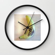 Spiderman Banana Wall Clock