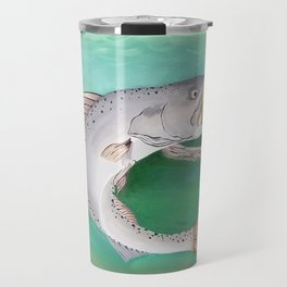 Take The Bait - Speckled Trout Travel Mug