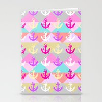 anchors Stationery Cards featuring Anchors by Ornaart