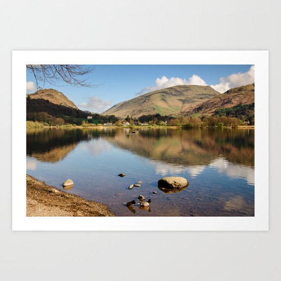 Grasmere Views Art Print