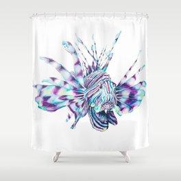 Trippy Fishy Shower Curtain