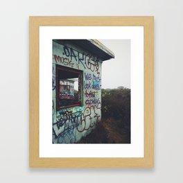 Look Deeper Framed Art Print