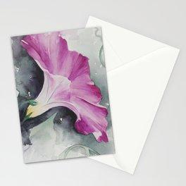 Morning Glory Stationery Cards