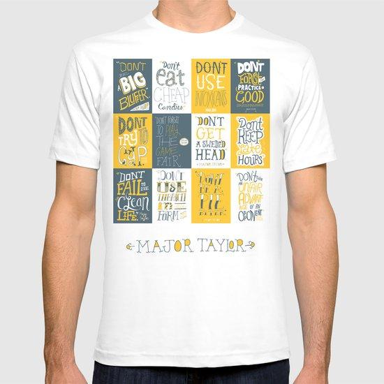 Major Taylor Grid T-shirt