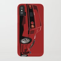 ferrari iPhone & iPod Cases featuring FERRARI F40 by MATT WARING