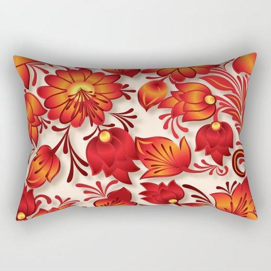 Shabby flowers #23 Rectangular Pillow