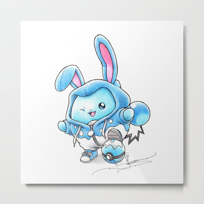 A Bubbly Personality Metal Print