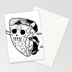 Pepperoni grab Stationery Cards