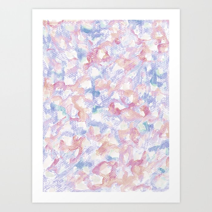 Abstract pattern 12 Art Print