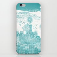 earth iPhone & iPod Skins featuring Earth by David Fleck