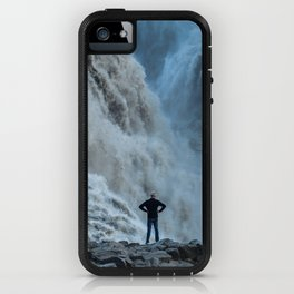 Staring into the power iPhone Case
