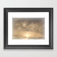 Dreamy Night Sky Framed Art Print