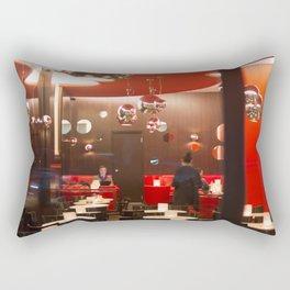 Red café PARIS Rectangular Pillow
