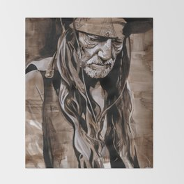 Willie Nelson  Throw Blanket