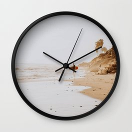lets surf xxi Wall Clock