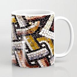 Roman Geometric Squares Tile Mosaic Pattern Coffee Mug