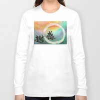 thanksgiving Long Sleeve T-shirts featuring Thanksgiving by Wakoshi