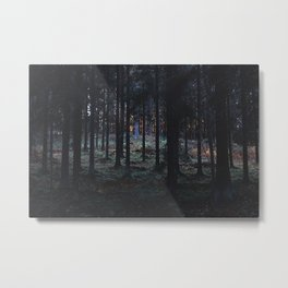 forest / last minute deal for a guilt trip Metal Print
