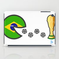world cup iPad Cases featuring Brazil World Cup 2014 by onejyoo