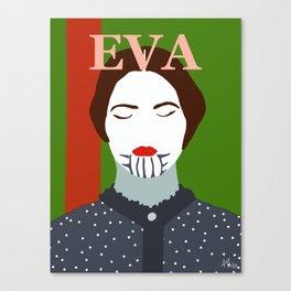Eva Green Canvas Print